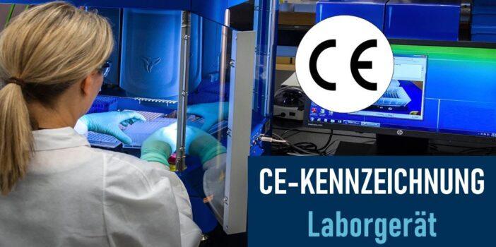 CE-Kennzeichnung für ein Laborgerät
