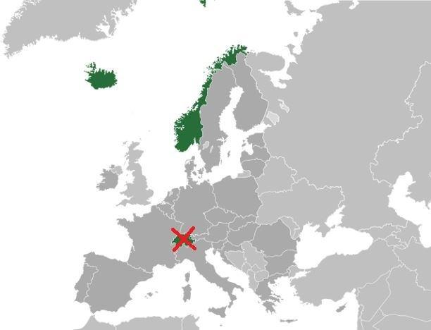 CE Zeichen Europäische Freihandelsassoziation